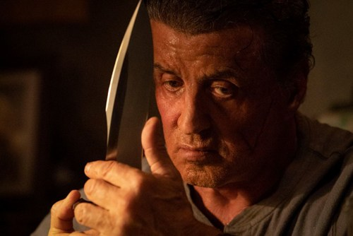 Rambo's knife in Rambo 5