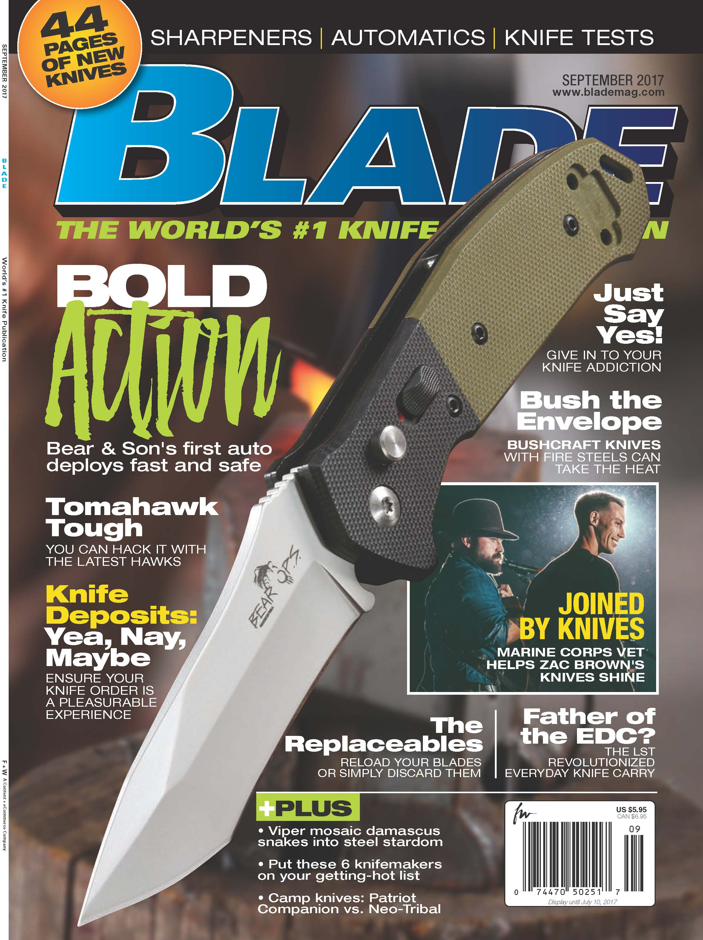 BLADE and Bold Action