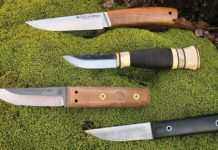 Puukko knife terms